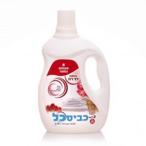 כביסכל רד רוז – 2 ליטר מוצר מהפכני גם מנקה גם מבשם וגם מרכך